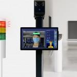 【AI顔認証‼】新規取扱い製品のサーモグラフィーカメラです‼